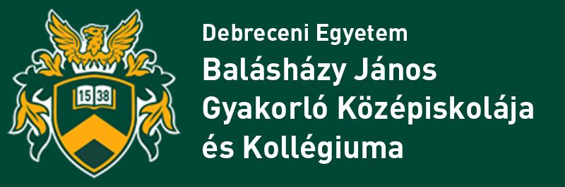 Debreceni Egyetem Balásházy János Gyakorló Középiskolája és Kollégiuma